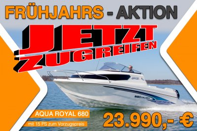 Aqua Royal 680 Cruiser + 15PS