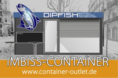 Fisch Imbiss Container